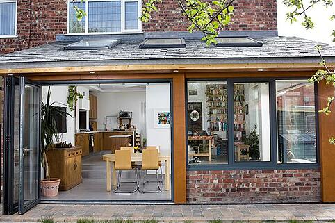 4 Design Ideas For A Modern House Extension With Bi-Folding Doors