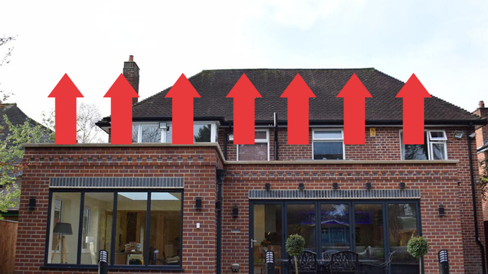 Can You Build On Top Of A Single Storey Extension