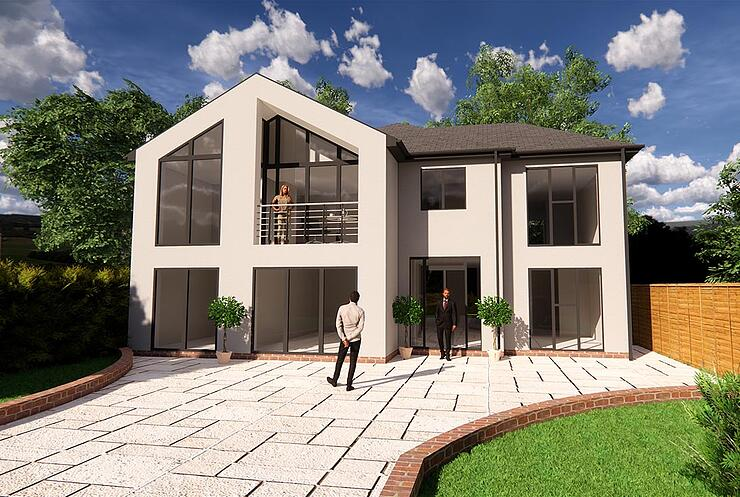 Newbridge-house-3D-drawing-extension-transformation