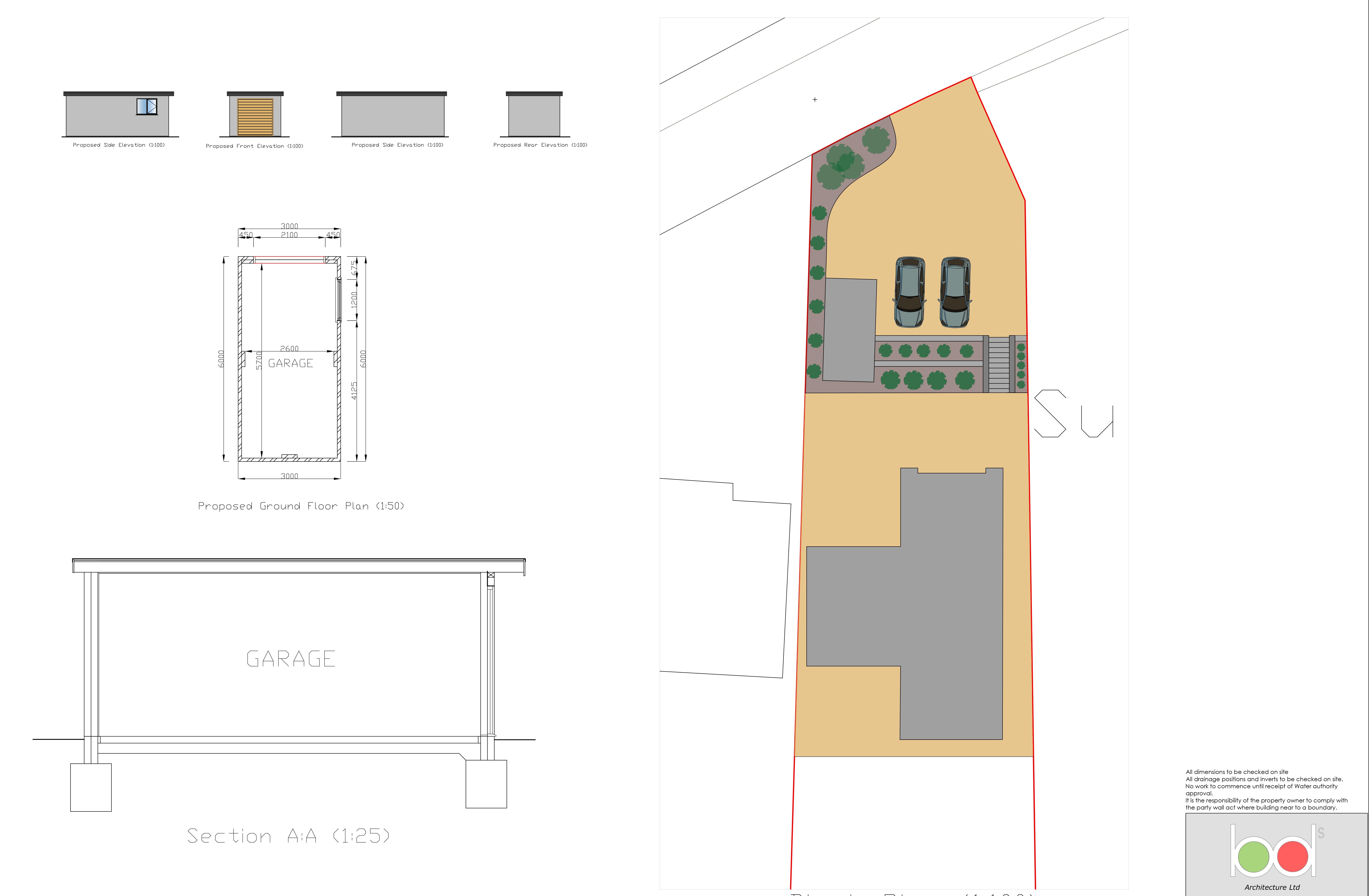 Toby's Hill Garage Design